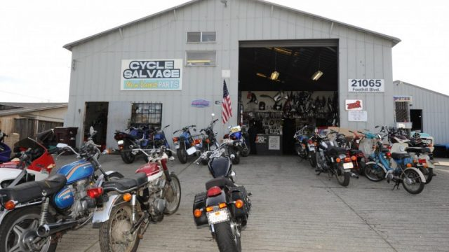 Salvage-motorcycles